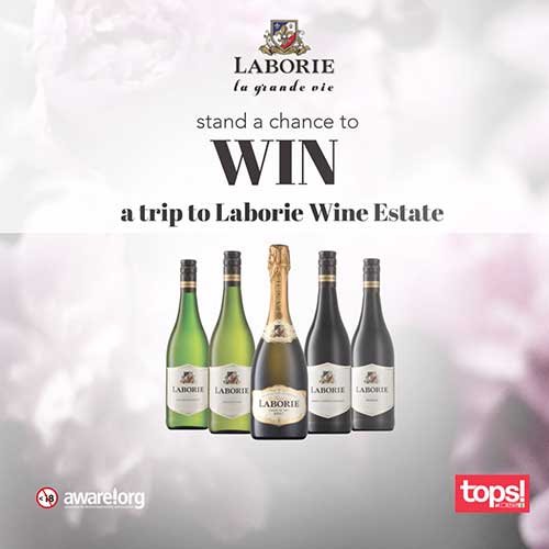 Win 1 of 4 trips to Laborie Wine Estate