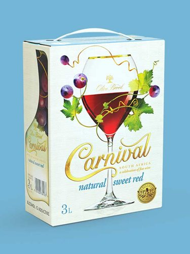 Carnival Sweet Red