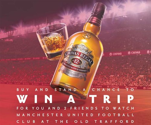 Win a trip to watch Man United play